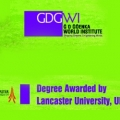 GD Goenka World Institute and Lancaster University